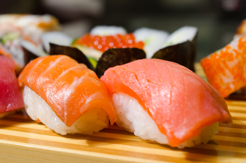 Marinated with the best and freshest traditional Japanese ingredients, we guarantee an explosion of flavour and colour